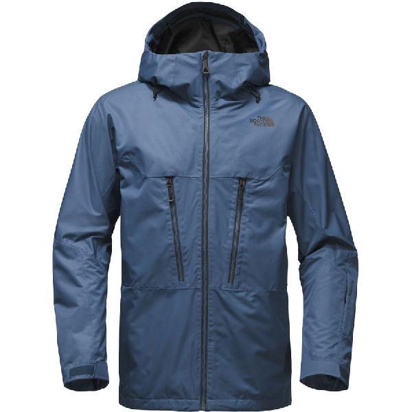 (取寄)ノースフェイス メンズ サーモボール スノー トリクラメイト フーデッド ジャケット The North Face Men's Thermoball Snow Triclimate Hooded Jacket Shady Blue