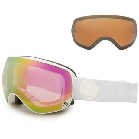 ドラゴン NFX2 スキー ゴーグル Dragon Alliance Men's NFX2 Ski Goggles White Out/Pink Ion + Ionized あす楽対応 【コンビニ受取対応商品】