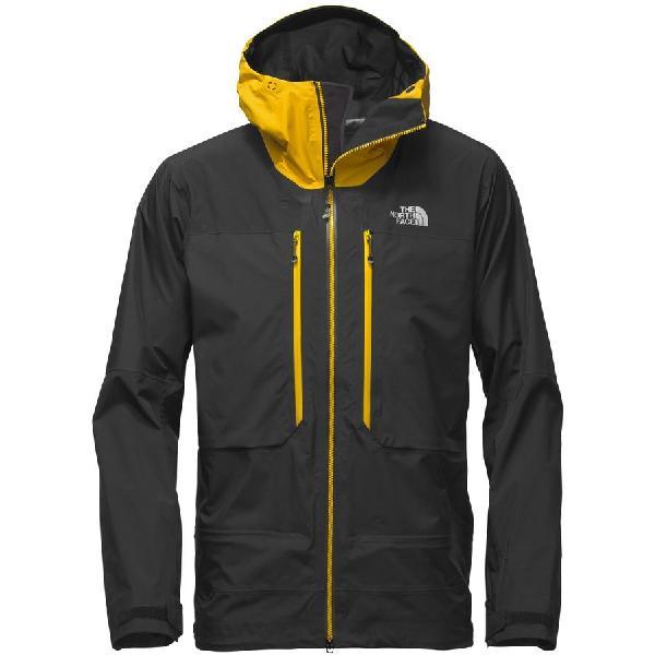 (取寄)ノースフェイス メンズ サミット L5GTX プロ ジャケット The North Face Men's Summit L5 GTX Pro Jacket Tnf Black/Canary Yellow