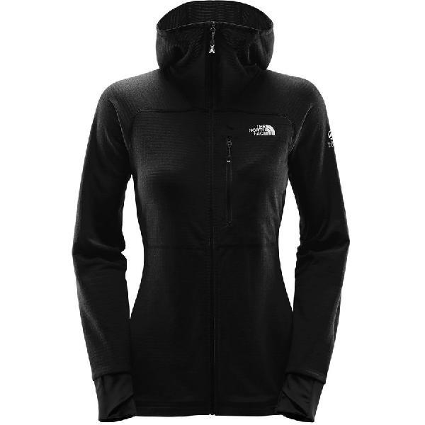 (取寄)ノースフェイス レディース サミット L2プロプリウス グリッド フリース フーデッド ジャケット The North Face Women Summit L2 Proprius Grid Fleece Hooded Jacket Tnf Black