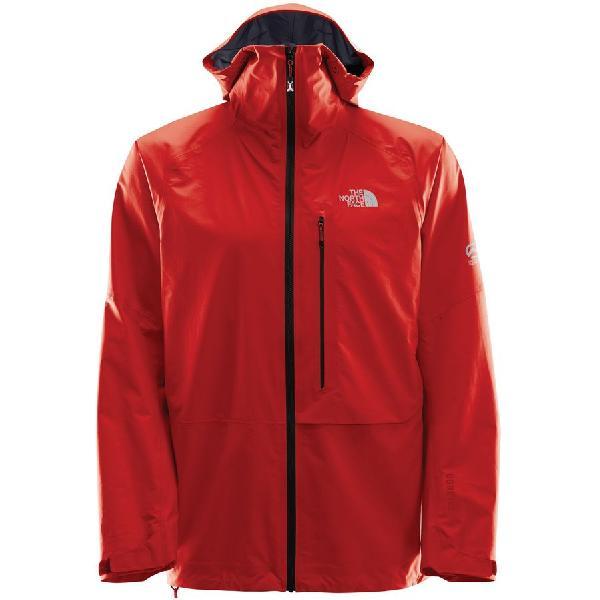 (取寄)ノースフェイス メンズ サミット L5プロプリウス GTX アックティブ フーデッド ジャケット The North Face Men's Summit L5 Proprius GTX Active Hooded Jacket Fiery Red