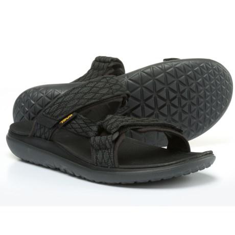 サンダル 【クーポンで最大2000円OFF】 (取寄) メンズ Terra-Floatスライド テバ Teva Mens Terra-Float Slide Sandals Charcoal Black