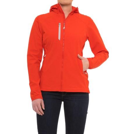 (取寄)マウンテンハードウェア レディース スーパー チョックストーン フーデッド ジャケット Mountain Hardwear Women Super Chockstone Hooded Jacket Fiery Red