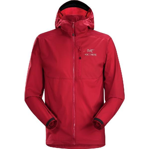 (取寄)アークテリクス メンズ スカーミッシュ フーデッド ジャケット Arc'teryx Men's Squamish Hooded Jacket Red Beach