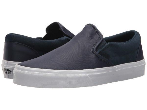 Vans(バンズ) スニーカー クラシック スリッポン ユニセックス メンズ レディース Vans Unisex Classic Slip (Surplus Nylon) Dress Blues