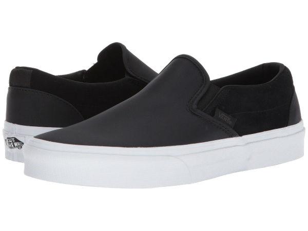 (取寄)Vans(バンズ) スニーカー クラシック スリップーオン ユニセックス メンズ レディース Vans Unisex Classic Slip (Surplus Nylon) Black