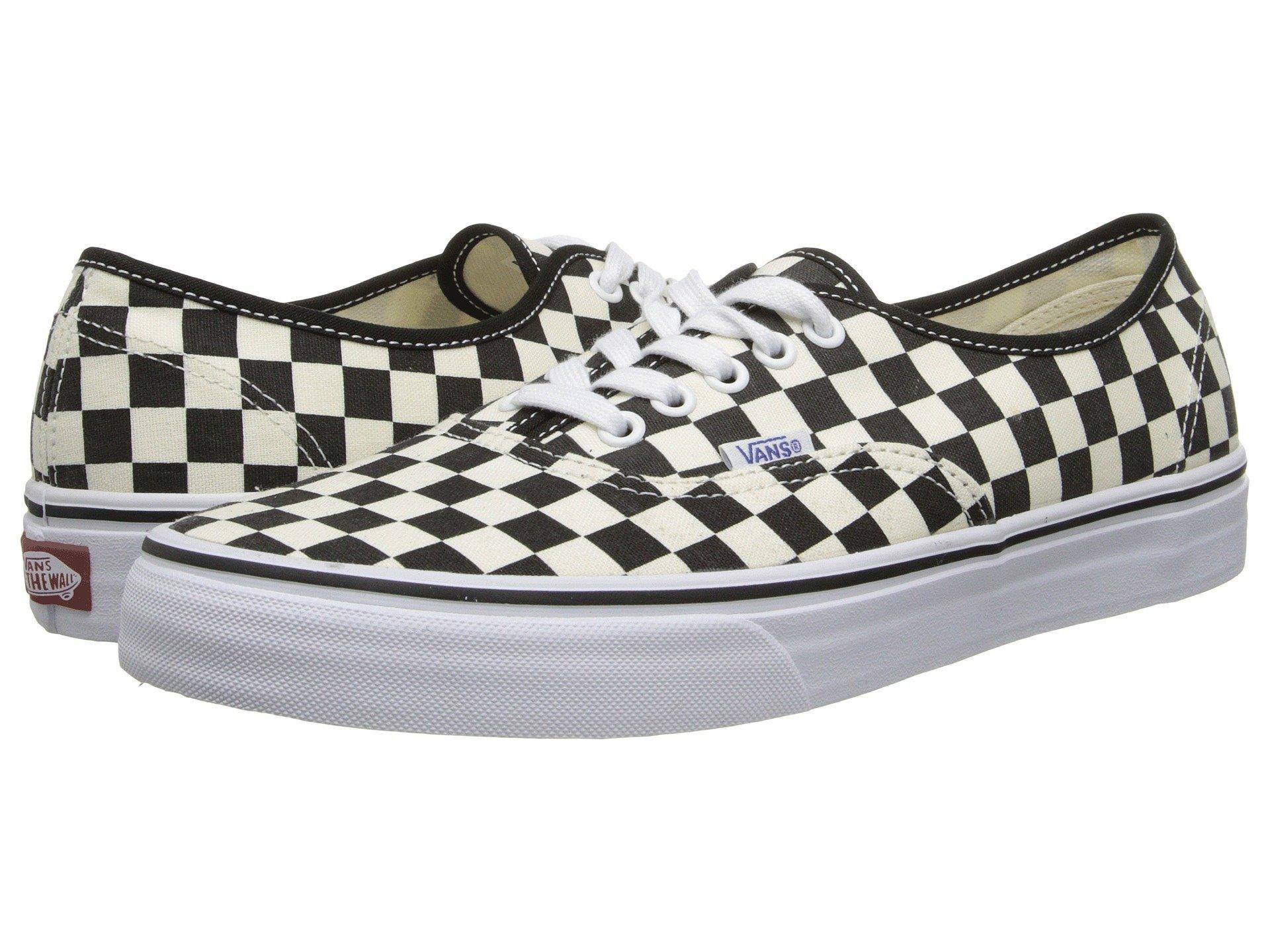 b12dbf4ca4b463 (order) Vans (vans) sneakers authentic men Vans Men s Authentic (Golden  Coast) Black White Checker