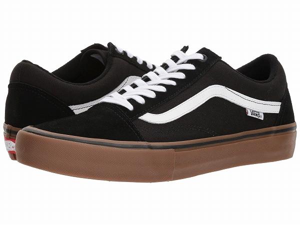 (取寄)Vans(バンズ) スニーカー オールド スクール プロ メンズ Vans Men's Old Skool Pro Black/White/Medium Gum