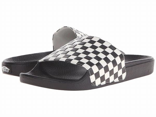 94ea55d6a6c6 (order) Vans (vans) sneakers Schley dough on men Vans Men s Slide-On ( Checkerboard) White