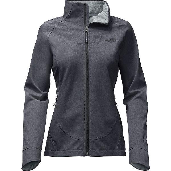 (取寄)ノースフェイス レディース アペックス Byder ソフトシェル ジャケット The North Face Women Apex Byder Softshell Jacket Tnf Medium Grey Heather