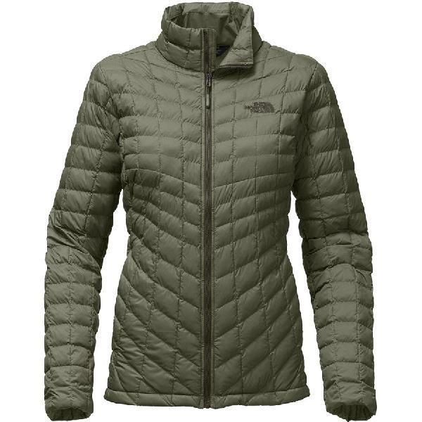 (取寄)ノースフェイス レディース ThermoBall インサレーテッド ジャケット The North Face Women ThermoBall Insulated Jacket Deep Lichen Green Matte