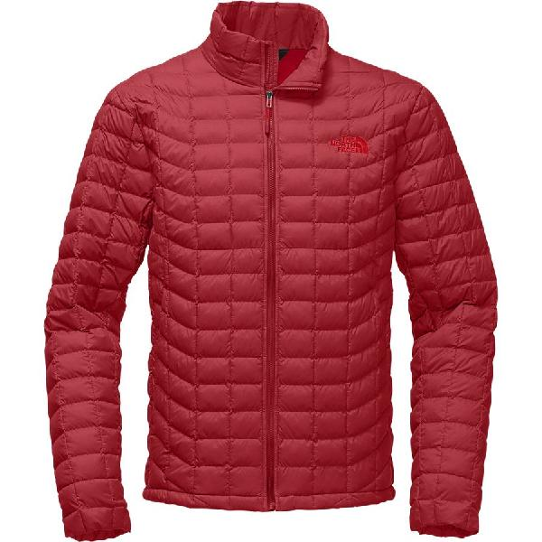 (取寄)ノースフェイス メンズ ThermoBall インサレーテッド ジャケット The North Face Men's ThermoBall Insulated Jacket Rage Red Matte