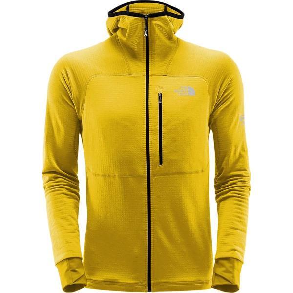 (取寄)ノースフェイス メンズ サミット L2 プロプリウス グリッド フリース フーデッド ジャケット The North Face Men's Summit L2 Proprius Grid Fleece Hooded Jacket Canary Yellow