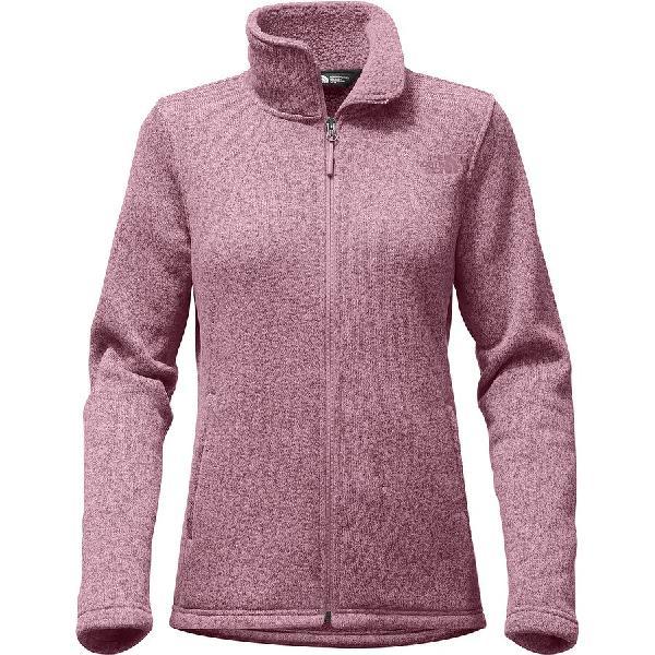 (取寄)ノースフェイス レディース クレセント フルジップ ジャケット The North Face Women Crescent Full-Zip Jacket Foxglove Lavender Heather