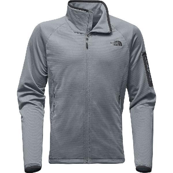 (取寄)ノースフェイス メンズ ボアード フリース ジャケット The North Face Men's Borod Fleece Jacket Mid Grey/Asphalt Grey