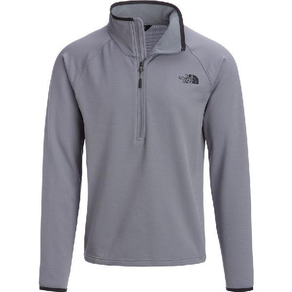 (取寄)ノースフェイス メンズ ボアード 1/4-Zip フリース ジャケット The North Face Men's Borod 1/4-Zip Fleece Jacket Mid Grey