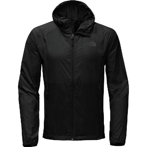(取寄)ノースフェイス メンズ フライウェイト フーデッド ジャケット The North Face Men's Flyweight Hooded Jacket Tnf Black/Tnf Black