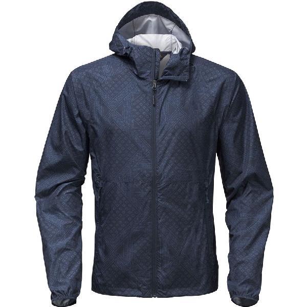 (取寄)ノースフェイス メンズ フライウェイト フーデッド ジャケット The North Face Men's Flyweight Hooded Jacket Urban Navy Bandana Print