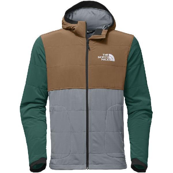 (取寄)ノースフェイス メンズ マウンテン トレーナー フルジップ パーカー The North Face Men's Mountain Full-Zip Hoodie Sweatshirt Mid Grey Multi