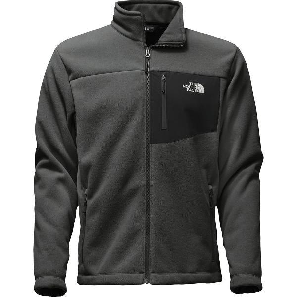 (取寄)ノースフェイス メンズ チンボラソ フルジップ ジャケット The North Face Men's Chimborazo Full-Zip Jacket Asphalt Grey/Tnf Black