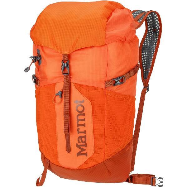 (取寄)マーモット コンプレッサー プラス バックパック Marmot Kompressor Plus Backpack Blaze/Rusted Orange