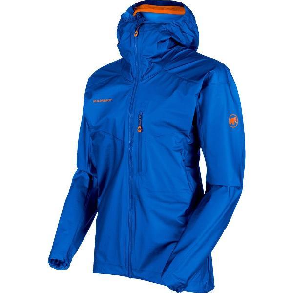 (取寄)マムート メンズ ノードワンド ライト HS フーデッド ジャケット Mammut Men's Nordwand Light HS Hooded Jacket Ice