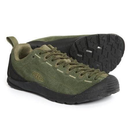 (取寄)キーン レディース ジャスパー シューズ KEEN Women Jasper Shoes Black Forest/Climbing Ivy