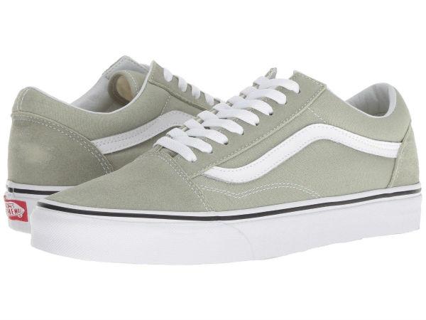 (取寄)Vans(バンズ) スニーカー オールド スクール ユニセックス メンズ レディース Vans Unisex Old Skool Desert Sage/True White