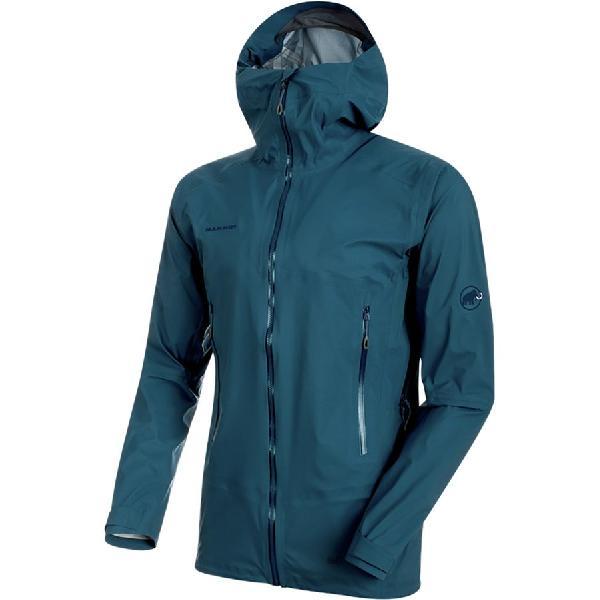 (取寄)マムート メンズ マサオ ライト HS フーデッド ジャケット Mammut Men's Masao Light HS Hooded Jacket Jay