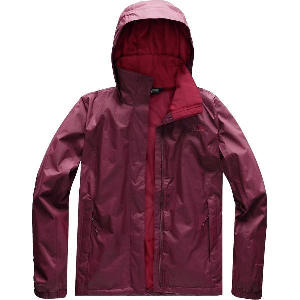 (取寄)ノースフェイス レディース リゾルブ 2 フーデッド ジャケット The North Face Women Resolve 2 Hooded Jacket Fig Brown/Rumba Red