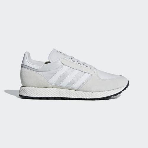 (取寄)アディダス オリジナルス メンズ フォレスト グローブ スニーカー adidas originals Men's Forest Grove Shoes Crystal White / Crystal White / Core Black