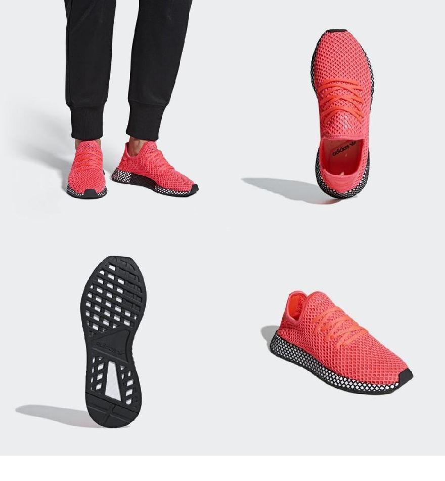 the latest b2c16 8c292 (order) アディダスオリジナルスメンズディーラプトランナースニーカー adidas originals Mens Deerupt Runner  Shoes Turbo  Turbo  Core Black