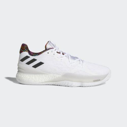 (取寄)アディダス メンズ クレイジー ライト ブースト 2018 バスケットボールシューズ adidas Men's Crazy Light Boost 2018 Cloud White / Grey / Grey