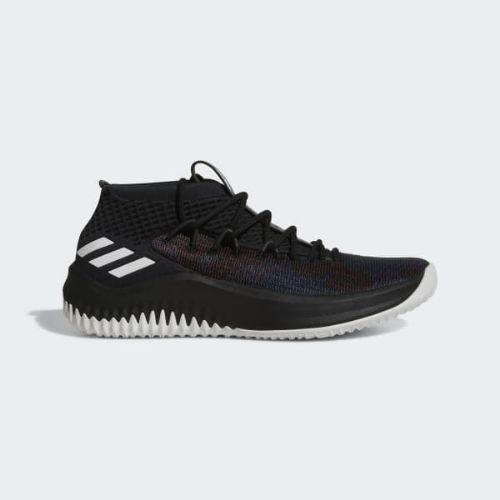 (取寄)アディダス メンズ デイム 4シューズ バスケットボールシューズ adidas Men's Dame 4 Shoes Core Black / Cloud White / Core Black