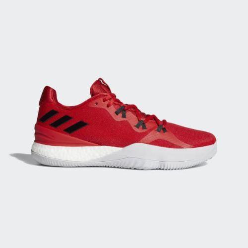 (取寄)アディダス メンズ クレイジーライト ブースト 2018シューズ バスケットボールシューズ adidas Men's Crazylight Boost 2018 Shoes Scarlet / Core Black / Cloud White