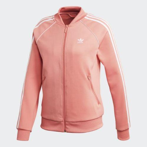 (取寄)アディダス オリジナルス レディース SST トラック ジャケット adidas originals Women SST Track Jacket Tactile Rose