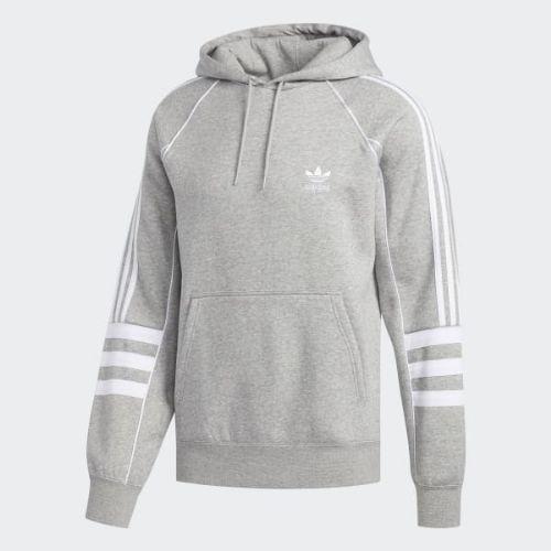 (取寄)アディダス オリジナルス メンズ オーセンティクス パーカー adidas originals Men's Authentics Hoodie Medium Grey Heather