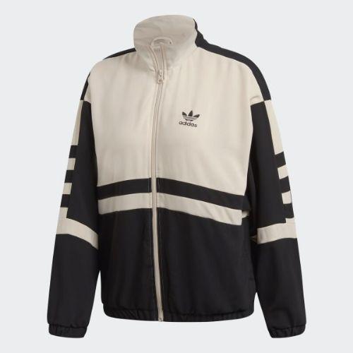 (取寄)アディダス オリジナルス レディース トラック ジャケット adidas originals Women Track Jacket Black / Linen