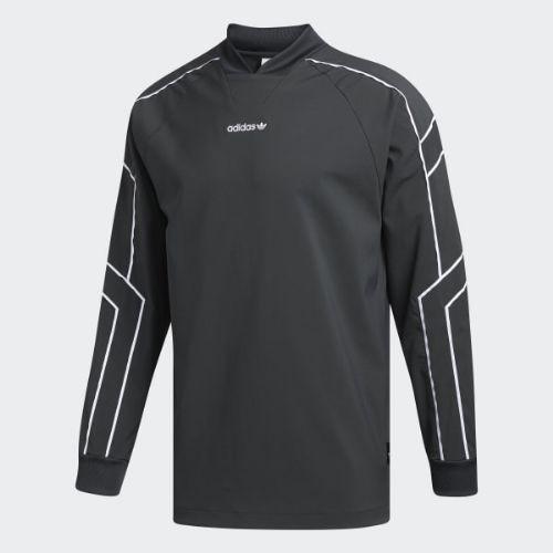 (取寄)アディダス オリジナルス メンズ EQT ゴーリー ジャージ adidas originals Men's EQT Goalie Jersey Carbon