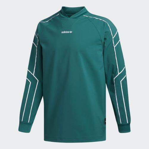 (取寄)アディダス オリジナルス メンズ EQT ゴーリー ジャージ adidas originals Men's EQT Goalie Jersey Noble Green