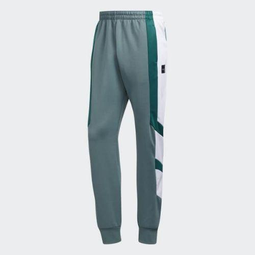 (取寄)アディダス オリジナルス メンズ EQT ブロック トラック パンツ adidas originals Men's EQT Block Track Pants Raw Green