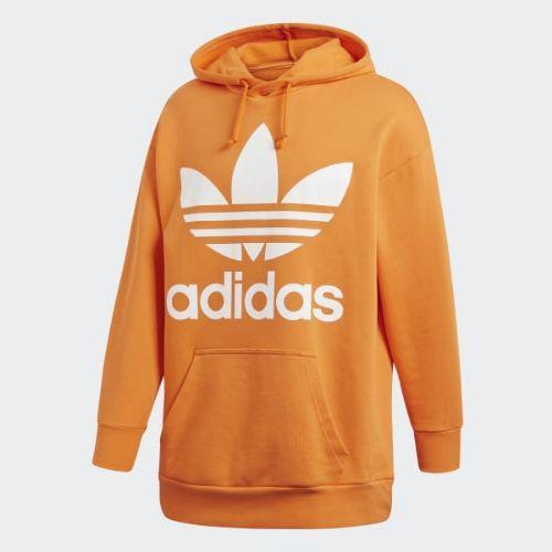 (取寄)アディダス オリジナルス メンズ トレフォイル オーバーサイズ パーカー adidas originals Men's Trefoil Oversize Hoodie Bright Orange