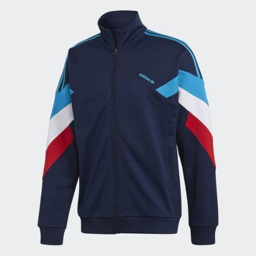 (取寄)アディダス オリジナルス メンズ Palmeston トラック ジャケット adidas originals Men's Palmeston Track Jacket Collegiate Navy / Bold Aqua