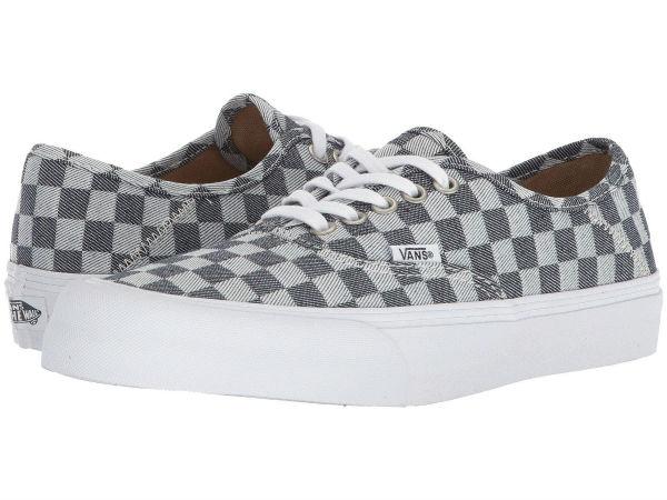 (取寄)Vans(バンズ) スニーカー オーセンティック SF レディース Vans Women Authentic SF Checkerboard Denim