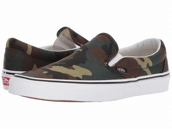 80a5e9afaa (order) Vans (vans) sneakers classical music slip men Vans Men s Classic  Slip (Woodland Camo) Black Woodland