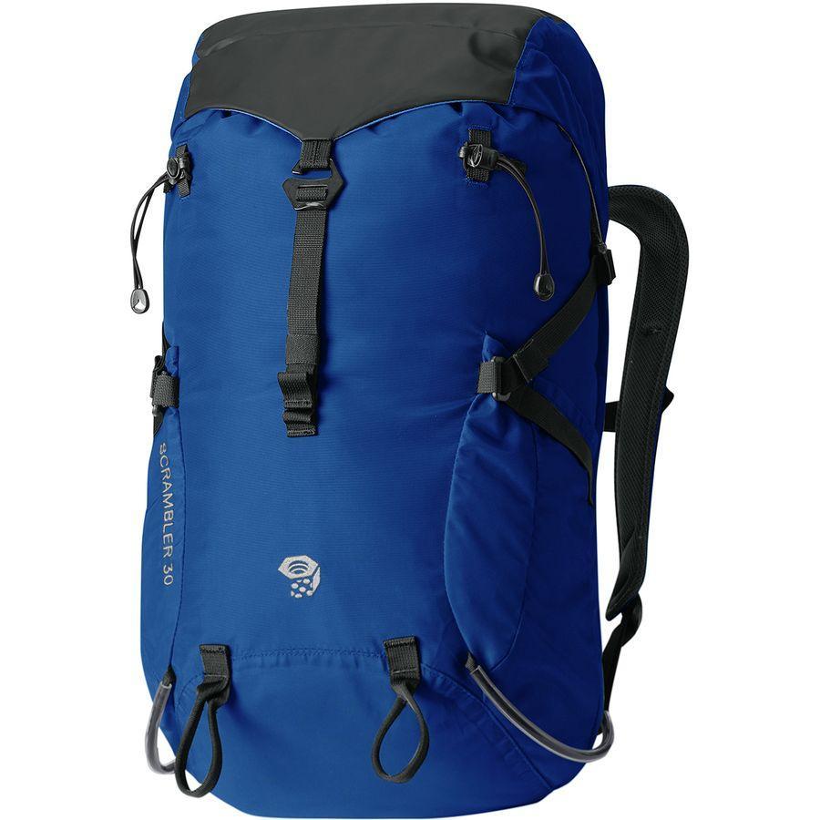 (取寄)マウンテンハードウェア スクランブラー アウトドライ 30L バックパック Mountain Hardwear Men's Scrambler Outdry 30L Backpack Nightfall Blue