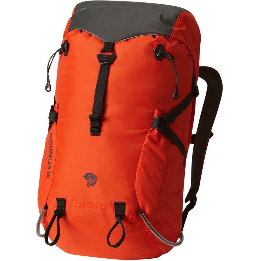 (取寄)マウンテンハードウェア スクランブラー アウトドライ 30L バックパック Mountain Hardwear Men's Scrambler Outdry 30L Backpack State Orange