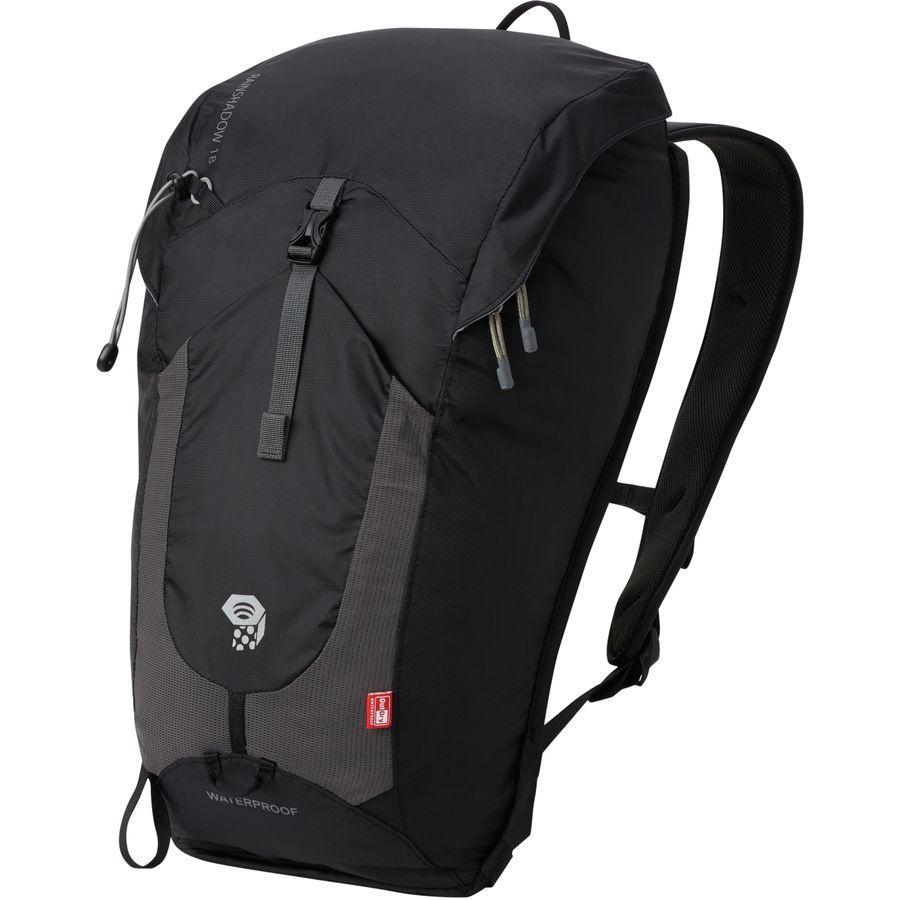 (取寄)マウンテンハードウェア レインシャドー アウトドライ 18L バックパック Mountain Hardwear Men's Rainshadow Outdry 18L Backpack Black