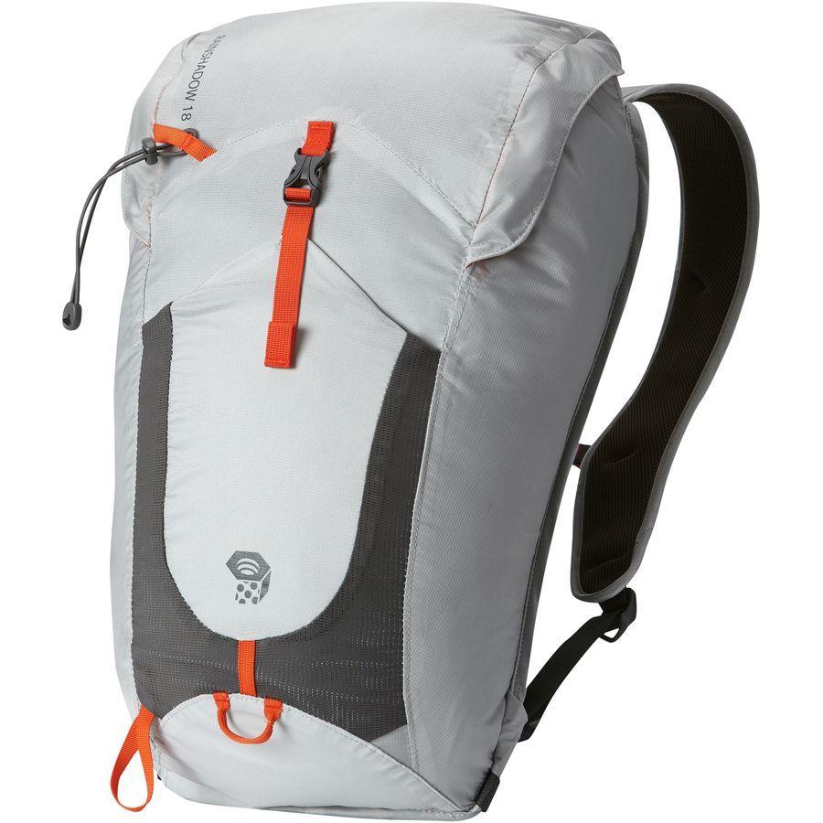 (取寄)マウンテンハードウェア レインシャドー アウトドライ 18L バックパック Mountain Hardwear Men's Rainshadow Outdry 18L Backpack Grey Ice/State Orange