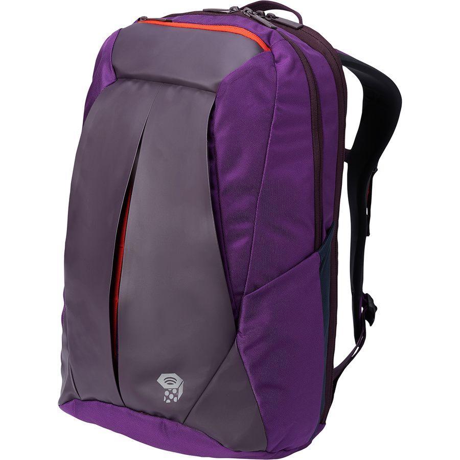 (取寄)マウンテンハードウェア フォルサム 19L バックパック Mountain Hardwear Men's Folsom 19L Backpack Cosmos Purple/Dark Tannin